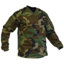VTac Sierra Paintball Jersey - Woodland Camo Top