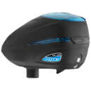 Dye Rotor R2 Paintball Loader - Black/Cyan