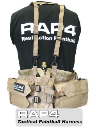 Rap4 Tactical Paintball Harness - Desert Camo