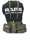 Rap4 Tactical Paintball Harness - Olive Drab