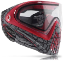 2015 Dye Invision I4 Pro Paintball Mask - Skinned Red