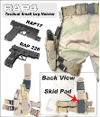 US Swat Tactical Leg Holster (.43 cal pistols)