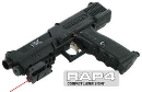 TPX Pistol with Compact Laser Sight